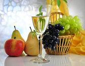 Wine composition — Stock Photo