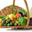 Vegetables assortment — Stock Photo #6743955