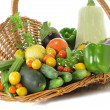 Vegetables assortment — Stock Photo