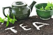 Skład herbaty luzem — Zdjęcie stockowe