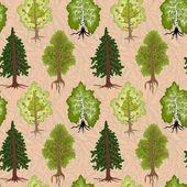 Many trees — Stock Photo