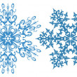 Stock Vector: Snowflakes clipart