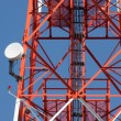 Mobile phone communication repeater antenna tower — 图库照片