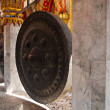 Old gong in thai temple — ストック写真