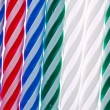 Stock Photo: Birthday candles texture
