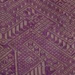 Traditional Thai handmade fabric texture background — Stock Photo