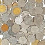 Coins thai baht background — Stock Photo #6648338