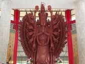 Guan Yin with 1000 hands — Stock Photo