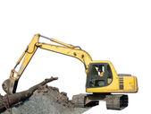 Tractor Excavating — Stock Photo