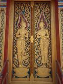 Храм двери украшения — Стоковое фото