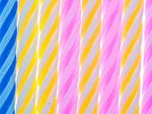 Birthday candles texture — Стоковое фото