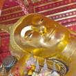 Gold buddha with smiling face — Lizenzfreies Foto