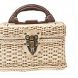 Basket, plastic wicker with protector - Foto de Stock