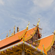 Thai culture,construction Thai Temple — Stock Photo #6656499