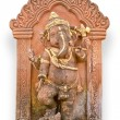 Old Hindu God Ganesh sculpture in Thailand temple — Stockfoto