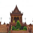 Ancient Thai temple, made from glazed tile — ストック写真