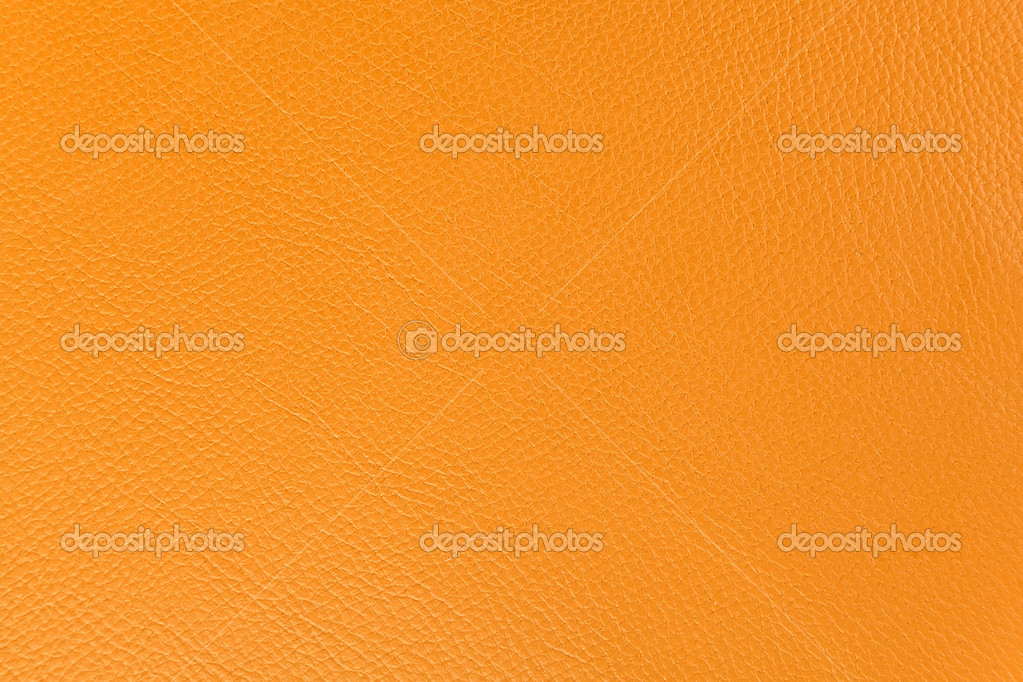 Pattern, Orange leather texture as background  Stock Photo #6655849