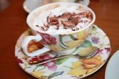 Vienna Coffee in Porcelain cup — Photo