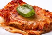 Cannelloni with Mushrooms — Stock Photo
