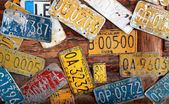 Cuban license plates — Stock Photo