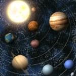 sluneční soustava — Stock fotografie