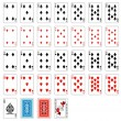 Deck of cards - Stock Vector