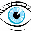 Royalty-Free Stock Vector Image: Eye illustration
