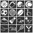 Royalty-Free Stock Vector Image: Sports icon set