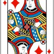 Постер, плакат: Queen of diamonds