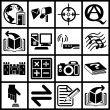 Internet web icon series set — Stock Vector #6575292