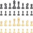 Chess pieces — Vector de stock #6575581