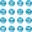 Website and Internet Icons — Stock Vector #6575804