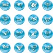 Tools and industry icons - Stock Vector
