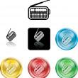 Radio symbol icon — Stock Vector