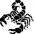 Scorpion illustration - Stock Vector