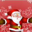 Royalty-Free Stock Vektorfiler: Father Christmas