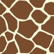 Seamless tiling giraffe skin animal print pattern - Vektorgrafik