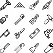 Stock Vector: Tool icons