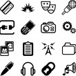 Network and computing Icon Series — ストックベクタ