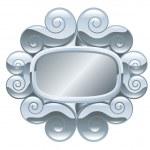 Frame illustration — Stock Vector