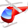 Helicopter vector illustration - Stock Vector