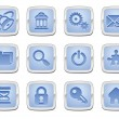 Internet icon set — Stock vektor