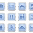 Travel icon set — Stock Vector #6578548