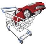 Car shopping cart concept — Stock Vector #6578785