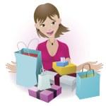 cliente feliz — Vetorial Stock