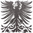 Imperial eagle design element - Stock Vector