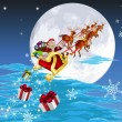 Royalty-Free Stock  : Santa in his sled