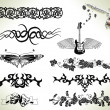 Royalty-Free Stock Vector Image: Tattoo flash design elements