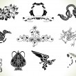 Tattoo flash design elements — Stock Vector #6579550