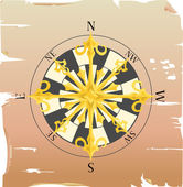 Compass — Stock Vector
